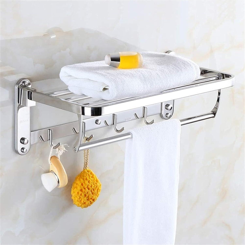 WGFGXQ Towel Rack Rapid rise Wall Bathroom Mount Shelf Very popular Ra