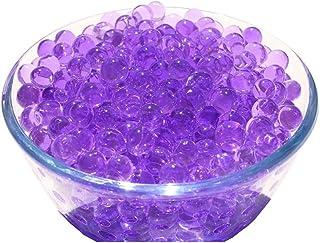 Verlike 10Sacs en forme de perles en cristal Perles d'eau du sol Mud Grow Magic Balls Plante décorative, violet, Taille u...