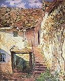 1art1 Claude Monet - Die Treppe, 1878 Poster Kunstdruck 50