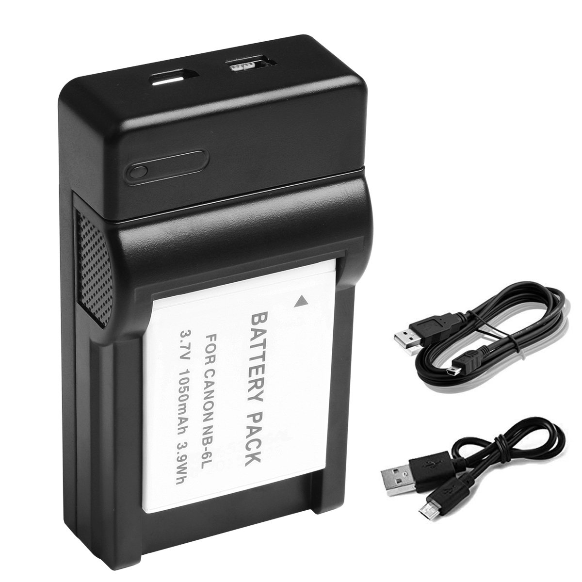 Camera Battery Charger For CB-2LYE 2LY Canon* NB-6L NB6L D10 D20 D30 S90 S95 UK