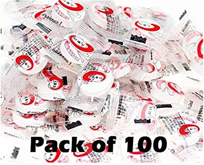 Yiki Beauty DIY Fleece Compressed Facial Sheet Mask - 100 Count - Ship from USA by Yiki Beauty