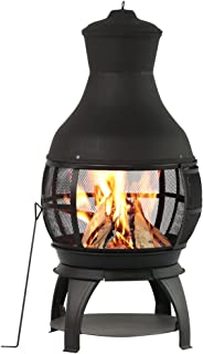 chiminea patio ideas