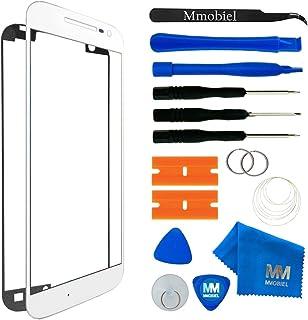 MMOBIEL Kit de Reemplazo de Pantalla Táctil Compatible con Motorola Moto G4 (Blanco) Incl. Kit de Herramientas