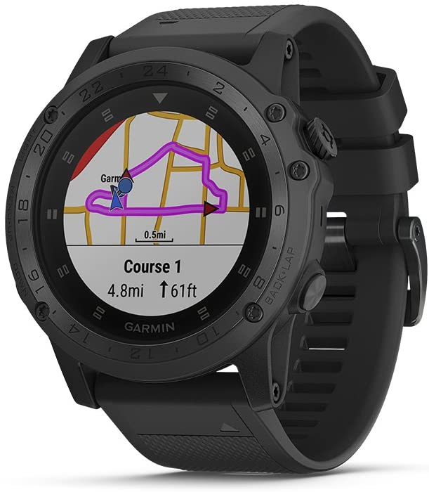 Garmin Tactix Charlie, Premium GPS Watch with Tactical Functionality
