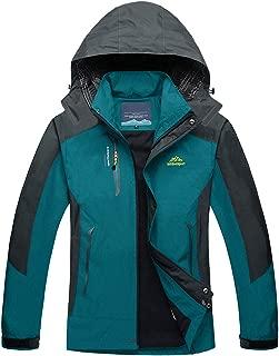 Men's Outdoor Sports Hooded Windproof Thin Hiking Climbing Jacket Waterproof Rain Coat