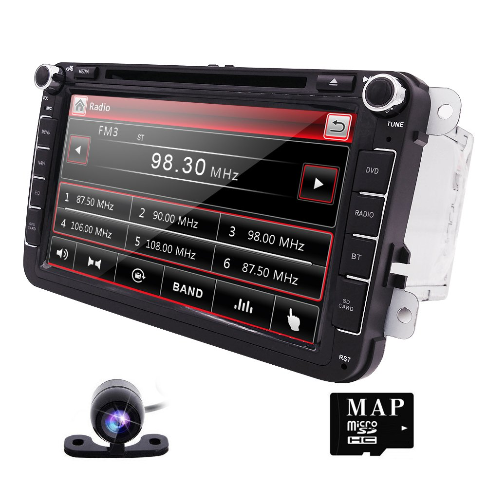 Navegación GPS reproductor de DVD estéreo de radio RDS para coche ...