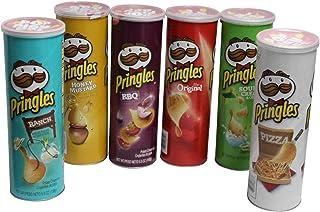 プリングルス 6種アソートボックス (オリジナル、ピザ、バーベキュー、ランチ、ハニーマスタード、サワークリーム&オニオン)