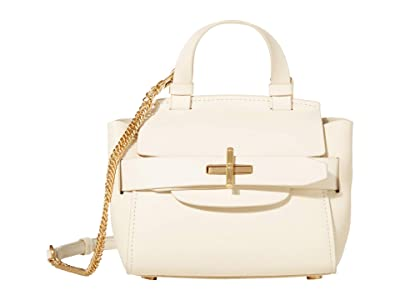 ZAC Zac Posen Brigette Belted Mini Crossbody Solid (Swan) Handbags