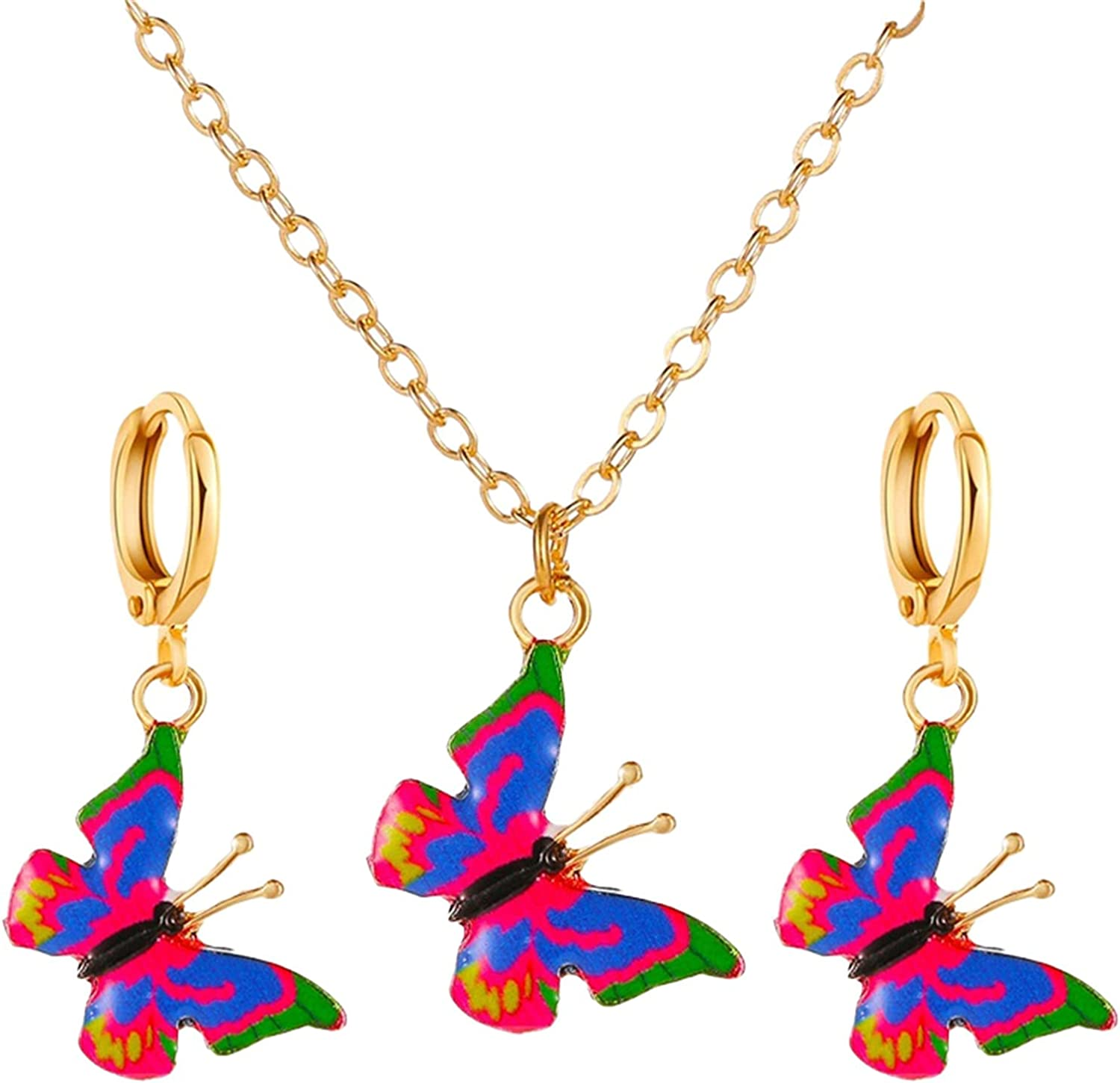 Rmbaby Fashion Gorgeous Ladies Color S Pendant mart Jewelry Sale Butterfly