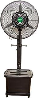 Aires acondicionados móviles ZHIRONG Ventilador eléctrico oscilante de la Industria móvil al Aire Libre del Ventilador de 260W Ventilador eléctrico añadido de la Agua del añadido del Agua 26 Pulgadas