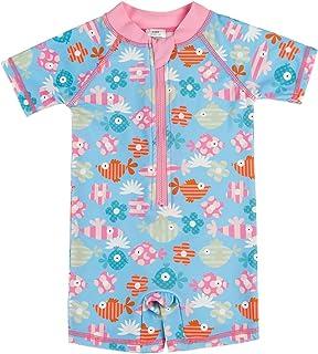 20368ee6fb3 Kids Boy Girl Swimsuit One Piece Surfing Suits Beach Swimwear Rash Guard