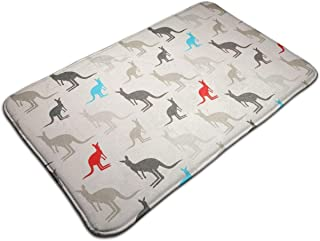 Absorben Anti-Slip Bathtub Mat Indoor/Outdoor/Frontdoor/Home Decor Perfect for Bedroom/Livingroom/Diningroom/Playroom/Kitchen Australia Kangaroos