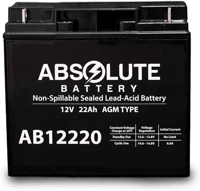 Ranking TOP7 AB12220 12V 22AH SLA Battery Replacement Ray Tiger Sea for Sales of SALE items from new works Extra
