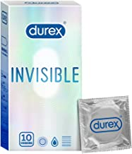 Durex Invisible Super Ultra Thin Condoms for Men – 10s