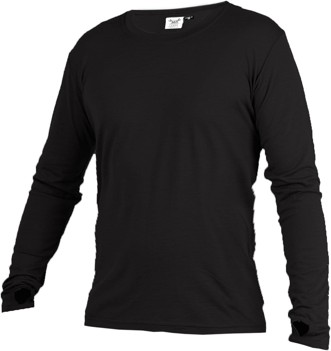Merino 365 OG Light 100% New Zealand Merino Longsleeve Baselayer Thermal Shirt with Thumbloops