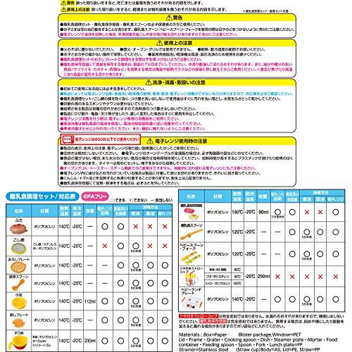 LEC(レック)『離乳食調理&食器セット』
