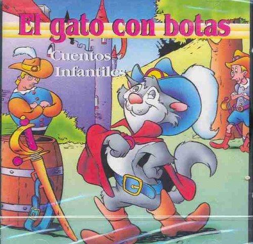 El Gato Con Botas (Cuentos Infantiles) [Audio CD] Mayte Alcaine