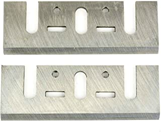 Superior Steel PB1200 3-1/4 Inch (82mm) Resharpenable High-Speed Steel Planer Blades (2 / Pack)