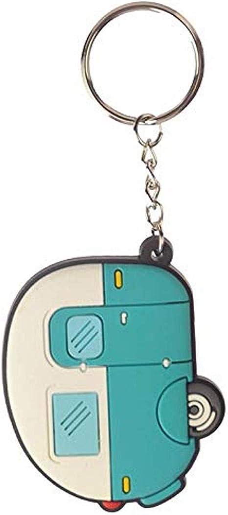 Puckator Schlüsselanhänger Aus Pvc Gemischt Gesamtlänge 11 5 Cm Höhe 5 Cm Breite 6 Cm Tiefe 0 5 Cm Küche Haushalt