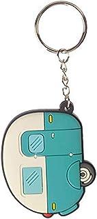 Puckator Schlüsselanhänger aus PVC, gemischt, Gesamtlänge 11,5 cm, Höhe 5 cm, Breite 6 cm, Tiefe 0,5 cm.