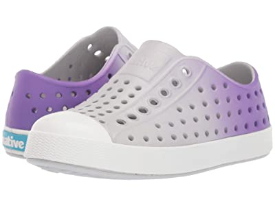 Native Kids Shoes Jefferson Ombre (Toddler/Little Kid) (Mist Grey/Shell White/Techno Ombre) Girl