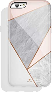 Akna iPhone 6/6s case Marble, Charming Series High Impact