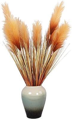 Flores secas Naturales Ramo de Trigo Oreja de Trigo DIY artesan/ía decoraci/ón del hogar WHK 50 Piezas de Tallos de Trigo seco