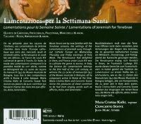 Lamentationi Per La Settimana Santa by Maria Cristina Kiehr