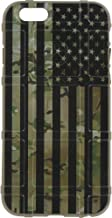 EGO Tactical Limited Edition Design UV-Printed onto a MAG849 Field Case Compatible with Apple iPhone 7 + Plus 8 + Plus 7+ 8+ Subdued US Flag Over Multicam Scorpion Camo