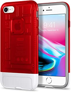 Spigen Classic C1 (10th Anniversary Limited Edition) Designed for Apple iPhone 8 Case (2017) - Ruby