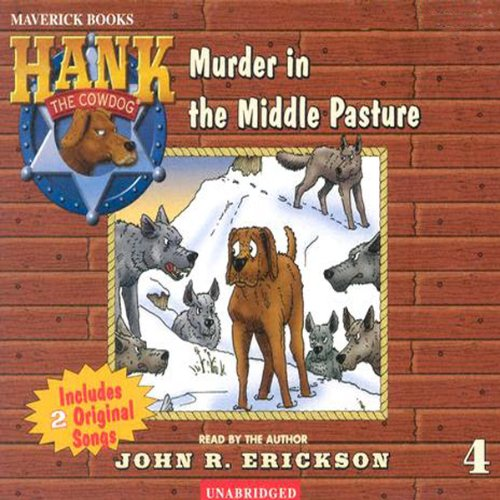 Murder in the Middle Pasture  audiobook cover art