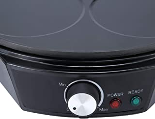 Electric Tortilla Maker, Multifunctional Aluminium Alloy Electric Pancake Maker, Restaurant for Home Kitchen