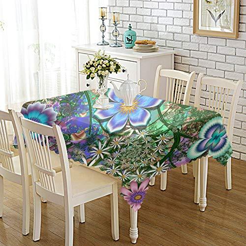 DREAMING-Verdickte Bedruckte Stoff Tischdecke Home Esstisch Stoff Tv-Schrank Couchtisch Stoff Runde Tisch Tischset 140cm * 200cm