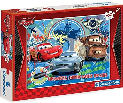 Clementoni Cars 2: Grand Prix 100 – puzzels (Jigsaw puzzel, tekeningen, Cars 2, 7 Oracal, Italië)