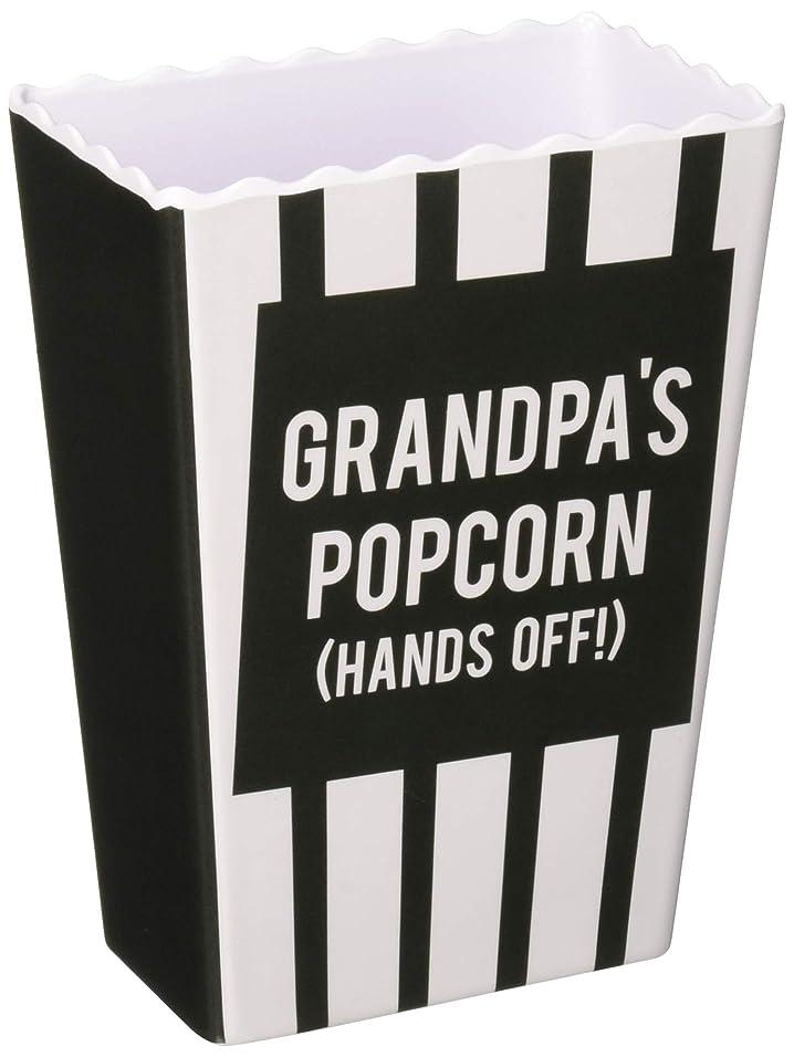 助言する本土ベルトMan Made 14251 Grandpa's (Hands Off) Striped Melamine Vintage Style Popcorn Snack Bowls, Grey