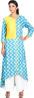 Agnimitra Paul Women's Cotton Regular Fit Churidar Set
