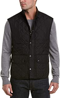 Barbour Mens Lowerdale Quilted Vest, M, Black