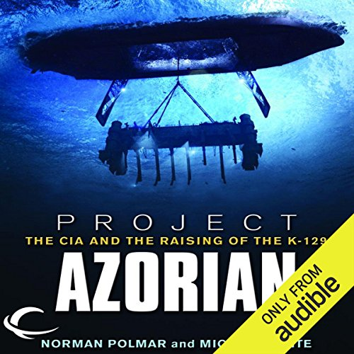 Project Azorian audiobook cover art
