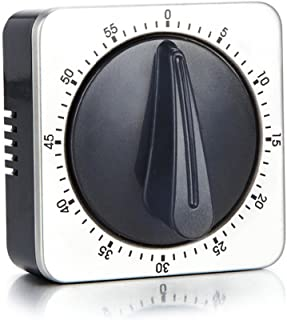 Kitchen Timer with 80dB Alarm Sound Magnetic Countdown Timer,Home Cooking Baking Washing Steaming Manual Timer,Stainless S...