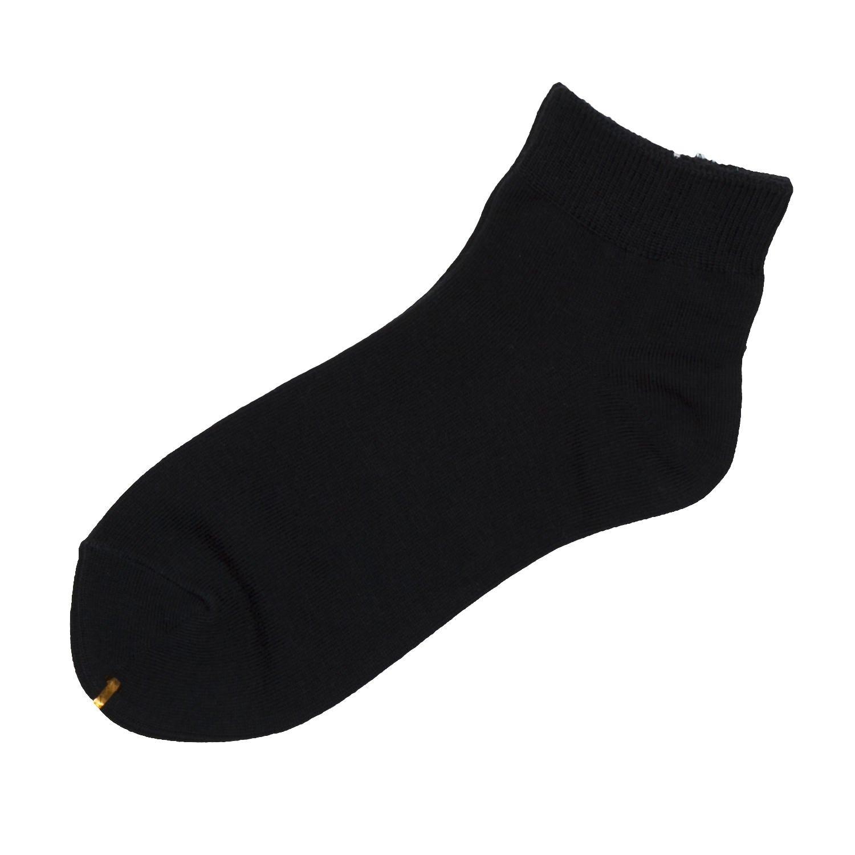 [靴下屋]クツシタヤ ベタショートソックス 22.0~24.0cm 日本製 無地靴下