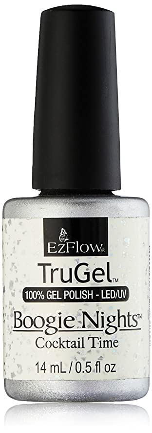 美徳恋人スタックEzFlow TruGel Gel Polish - Cocktail Time - 0.5oz / 14ml