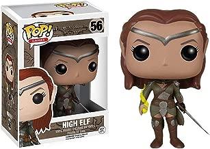 High Elf: The Elder Scrolls Online x Funko POP! Games Vinyl Figure & 1 POP! Compatible PET Plastic Graphical Protector Bundle [#056 / 05271 - B]