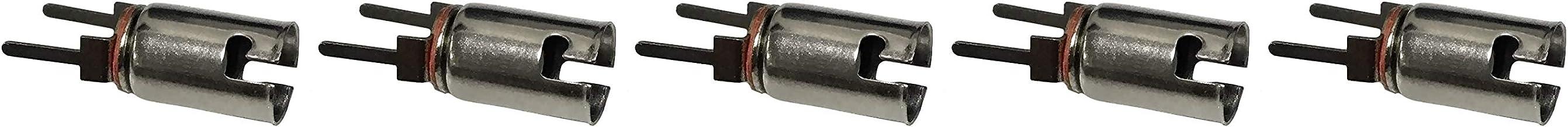 Insulated Mounting Bracket Pack of 5 BA9s Bayonet Lamp Holder Bulb Socket