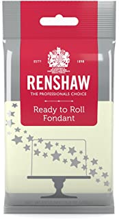 Ready to Roll Fondant Icing Ivory 8.8 Ounces by Renshaw
