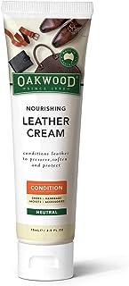 OAKWOOD Nourishing Leather Cream 75mL, Clear