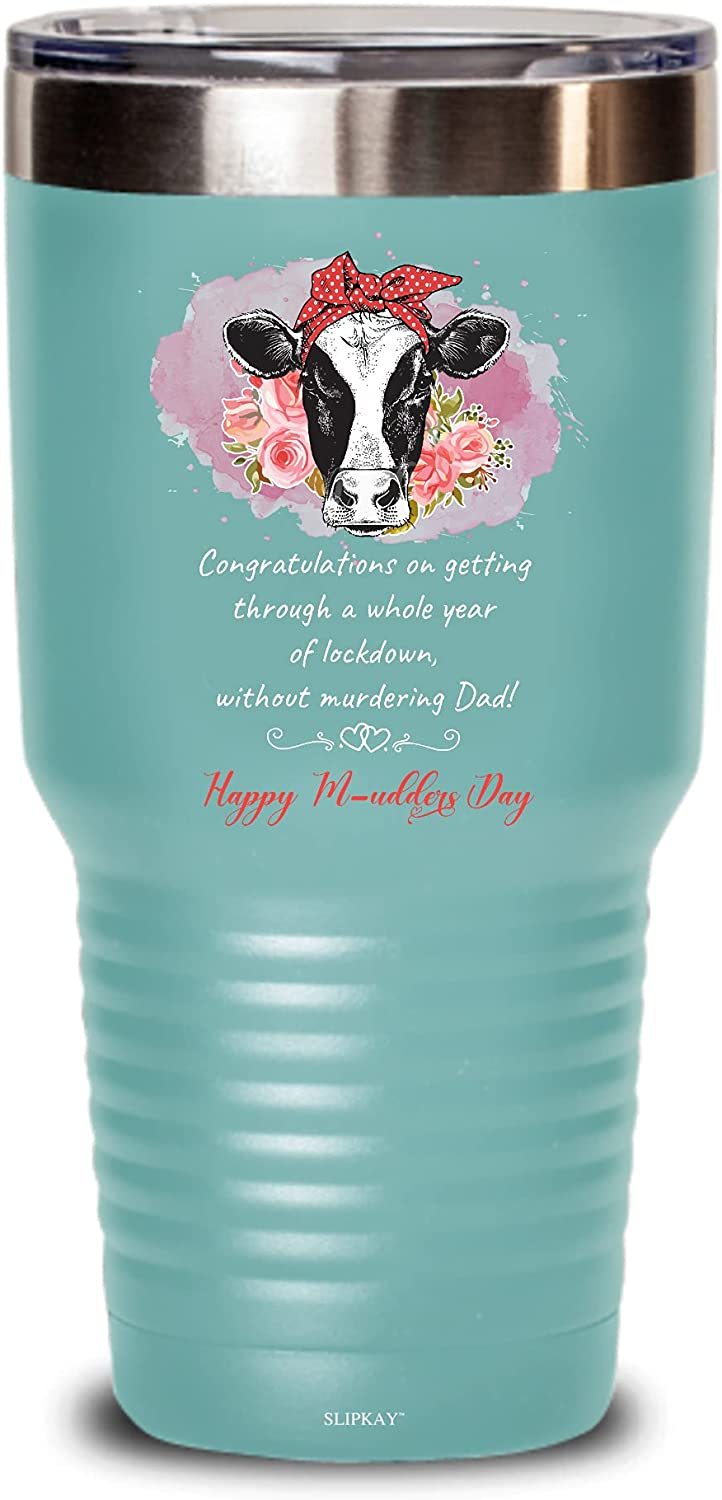 A Whole Year Of Free Shipping New Lockdown Happy 30oz Gifts M-udders Super beauty product restock quality top Day Tumbler