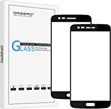 Orzero (2 Pack) Compatible for LG Rebel 3 LTE, Rebel 2, Risio 2 LTE, LG Fortune, Phoenix 3, K4 (2017) (Full Cover) Tempered Glass Screen Protector, 2.5D Arc Edges HD (Lifetime Replacement Warranty)