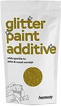 Hemway   Glitter Verf Additief voor Emulsie Watergebaseerde Verven 100g