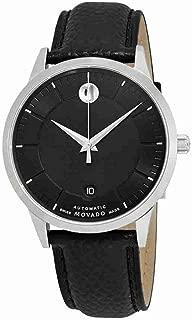 1881 Automatic Movement Black Dial Men's Watch 0607019