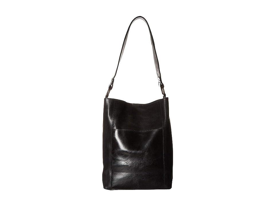 ABLE Mihiret Bucket (Black) Shoulder Handbags
